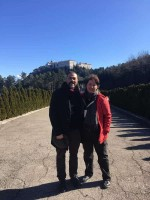 my tour with Carlo Puddu (Managing Director of the Liberation Route Italy)