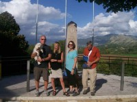 Visitors of Montecassino War Tours