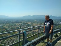The Gernan point of view on the Liri Vally with Monte Cassino War Tours