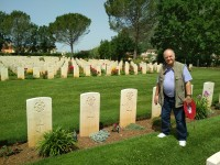 Battlefield tour on the footsteps of the Canadian soldiers in Cassino