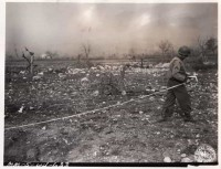 36th Division clearing the path