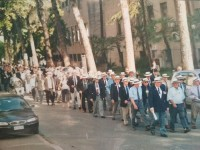 Veterans during 60th anniversaty